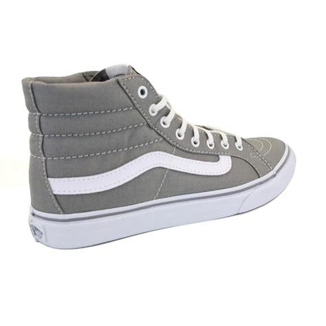 vans sk8 hi qg38zu slim womens laced canvas trainers shoes