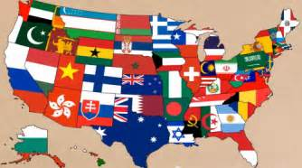 us map state flags every us state shown with a flag of a country that
