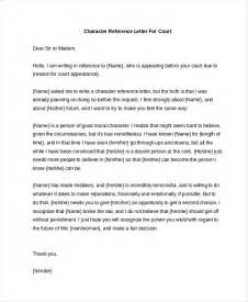 sample character reference letter 8 free documents in