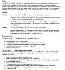cv review am i good enough to get a job in banking