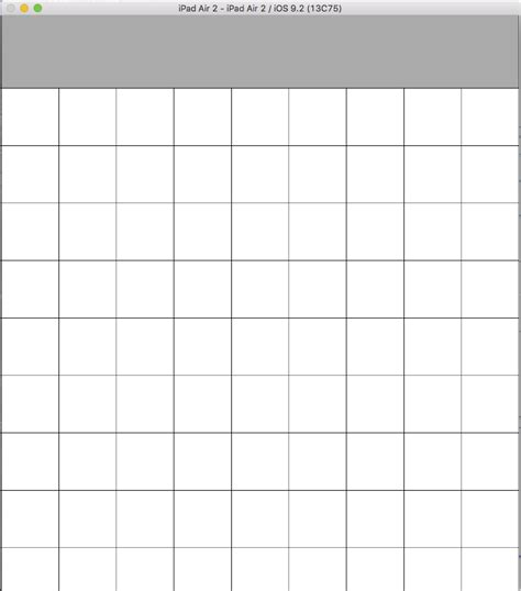 grid layout swift user interface swift creating grid of many text fields