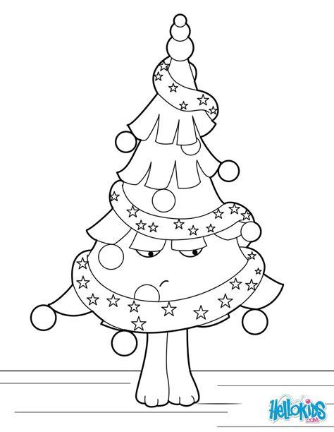 weihnachtsbaum ungl 252 cklich zum ausmalen de hellokids com