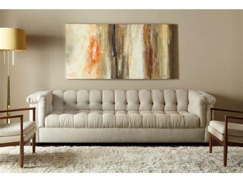 long tufted sofa living room long single cushion tufted sofa for luxury