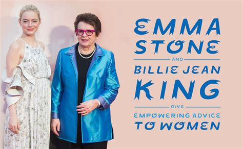 emma stone feminist emma stone and billie jean king answer your questions on