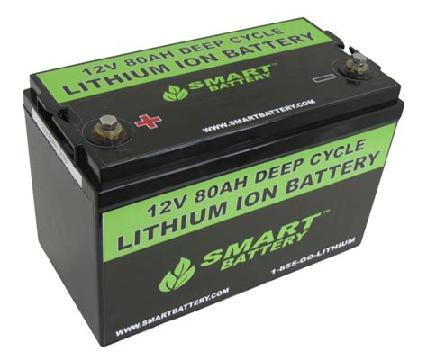 Smart Battery smart battery sb80 12v 80ah lithium ion battery