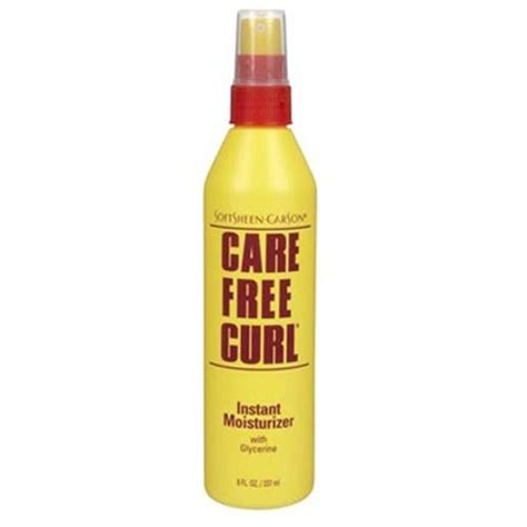 carefree curl care free curl instant moisturizer 8 oz care free