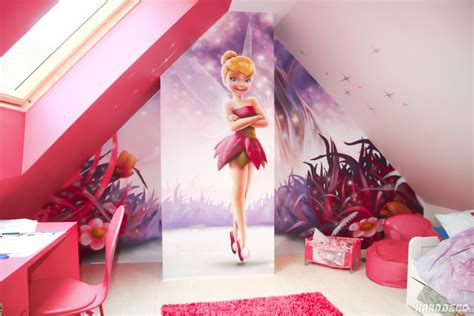 chambre fee decoration chambre fille fee clochette