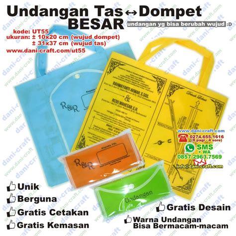 Undangan Bentuk Tas Terlaris undangan tas dompet besar souvenir pernikahan