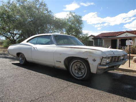 1967 chevrolet impala ss 2 door hardtop project 327