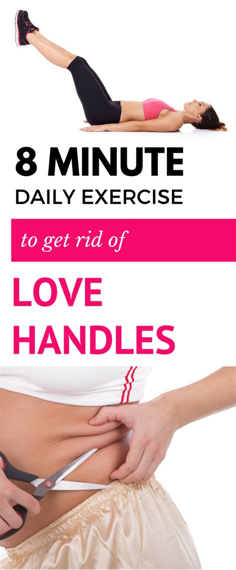 8 minute daily exercise to get rid of handles