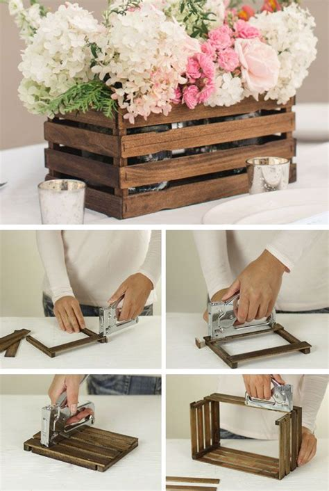 diy wedding reception decorations on a budget rustic stick basket click for 18 diy rustic wedding