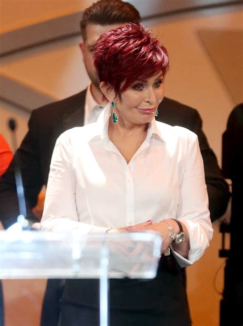 back view of sharon osbourne haircut sharon osbourne photos photos 22nd annual race to erase