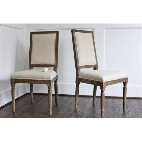 bouleware upholstered dining chair french country dining