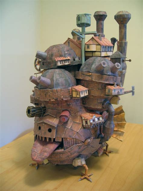 Moving Papercraft - howl s moving castle papercraft strictlypaper
