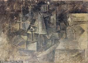 picasso paintings in nyc stolen picasso painting found in new york daily mail