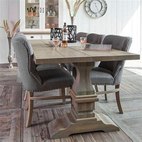 salontafel oak grey reclaimed wood dining table