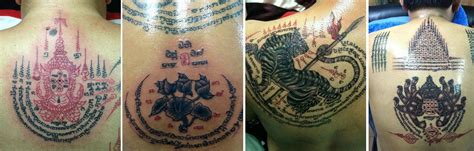 thai magic tattoos the and influence of sak yant books sak yant magic in pattaya pattaya