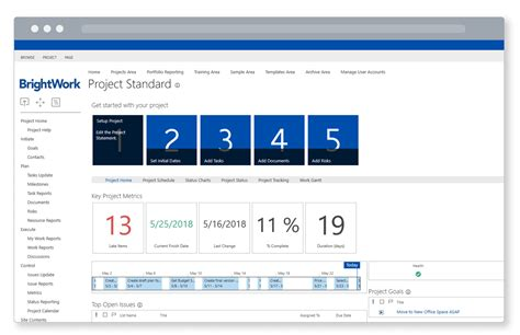 4 Quick Steps To Set Up Sharepoint For Project Management Sharepoint Task Tracking Template