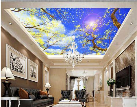 wallpaper awan  plafon nirwana deco jogja