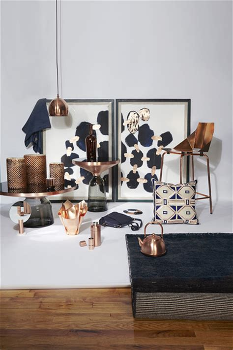 navy home decor copper and navy photos design ideas remodel and decor
