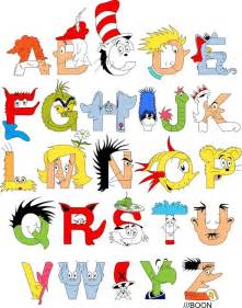 dr seuss alphabet by mike boon