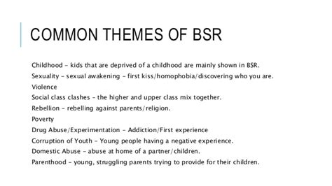 common themes in children s stories british social realism themes