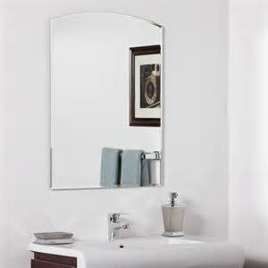 Bathroom Vanity Mirrors Lowes by Decor Wonderland Ssm210 Katherine Modern Bathroom Mirror