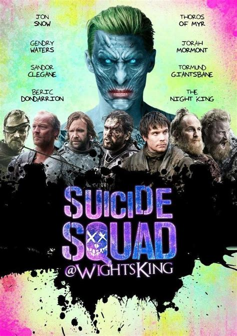 Suicide Squad Memes - westeros suicide squad game of thrones know your meme