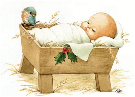 Baby Jesus Born In The Crib Pictures And Coloring Pages Baby Jesus Crib