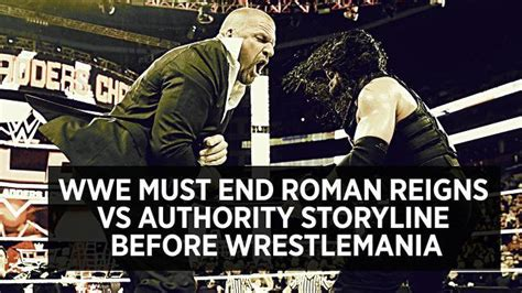 wwe   roman reigns  authority storyline