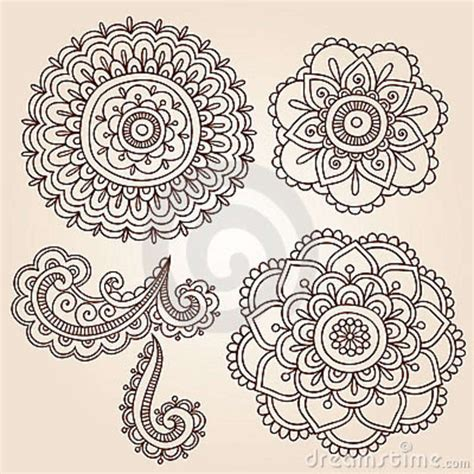 henna tattoo flower henna vine coloring pages
