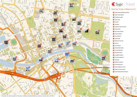 printable maps melbourne docklands melbourne tripomatic