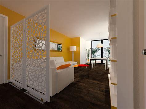 ingresso soggiorno come dividere ingresso e soggiorno pianta e prospetto in