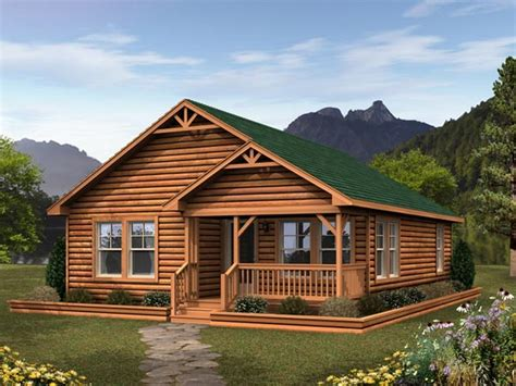 log cabin home pin manufactured log home on