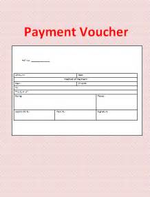 payment voucher template formsword word templates