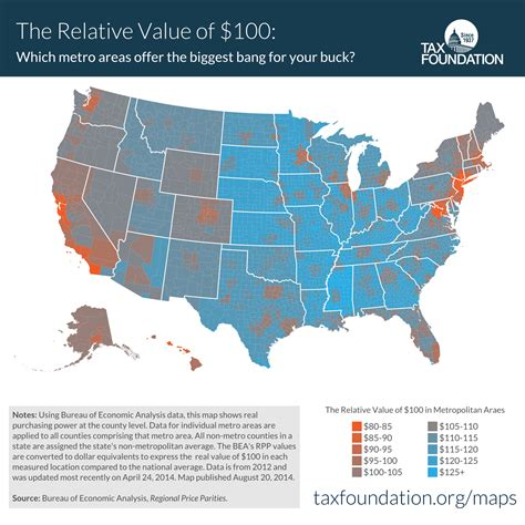 cost of living map usa 70 maps that explain america vox