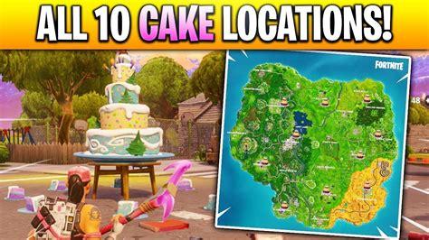 birthday cake locationsshown  map dance