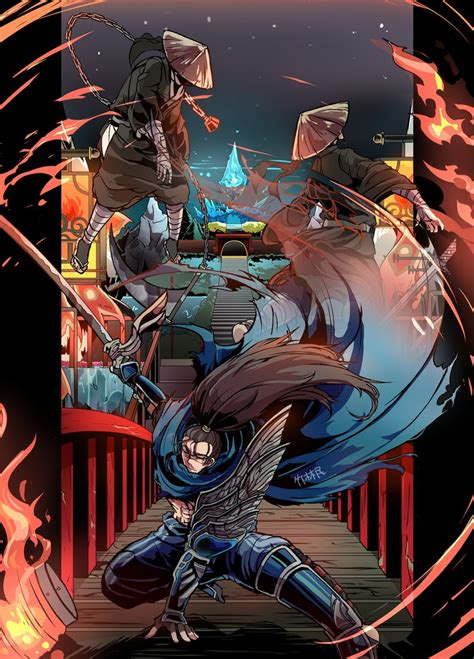 yasuo wallpaper hd android yasuo by sasanohax d7t9l30 png 758 215 1054 league of