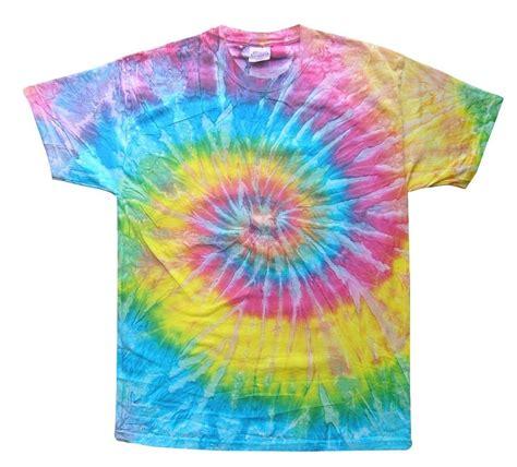 light rainbow tie dye t shirts size youth xs to xl