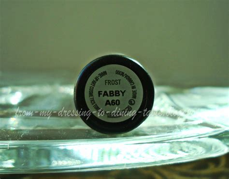 A Fabby Up by Mac Fabby Lipstick Review And Swatches Mac Fabby