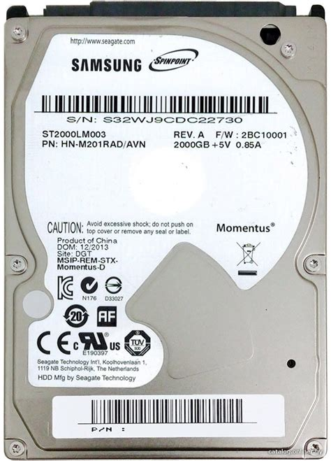 Hddharddisk 2tb2000gb Samsung 25inc For Laptopnotebook buy hdd laptop seagate sata 2tb 2 5 inch st2000lm003 iterials