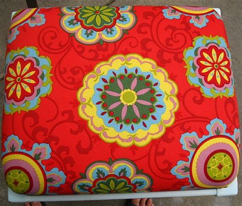 upholstery fabric at hobby lobby sunset coast vanity bench diy furniture paint makeover
