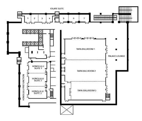 hawaii convention center floor plan hawaii convention center floor plan hawaii convention