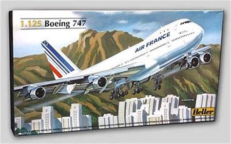 commercial plastic model airplanes b747 air france commercial airliner plastic model airplane