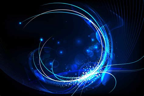 design effect preview free blue glow background vector