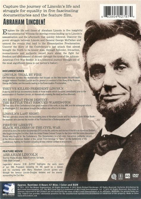 abraham lincoln the vire trailer abraham lincoln trial by documentary collection