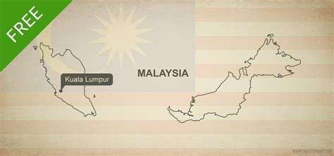 malaysia map vector free free vector map of malaysia outline one stop map