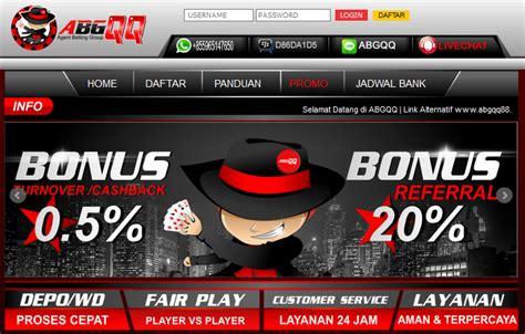 abgqq alternatif link terpopuler  bandar judi poker  indonesia