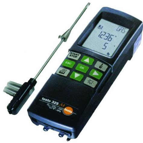 testo self 325m testo 325m 400700 3252 self service kit o2 co