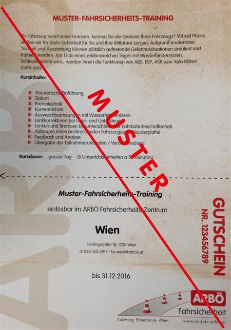 Fahrsicherheitstraining Motorrad Steiermark by Gutscheine Arb 214 Fahrsicherheitszentrum